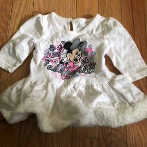 Cute Minnie Mouse Ice Skating Dress